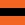 Orange with black stripe